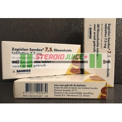 Zopiclone 7.5mg (Sleeping medication)